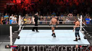 WWE 2K15 PC - MyCareer Custom Superstar Vs Randy Orton PPV Match [60fps]