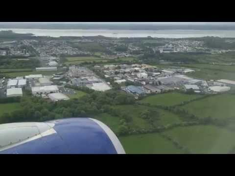 British Airways BA001 landing at Shannon Airport 03/06/2015  (A318)