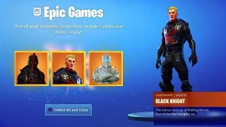 New BLACK KNIGHT STYLES in Fortnite