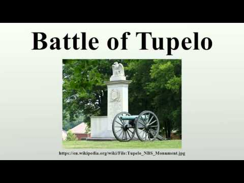 Battle of Tupelo