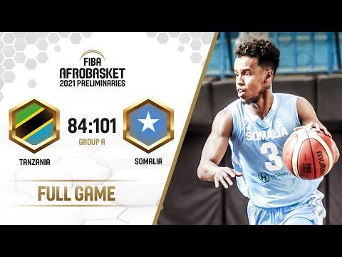 Tanzania v Somalia - Full Game - FIBA AfroBasket  Preliminaries 2021