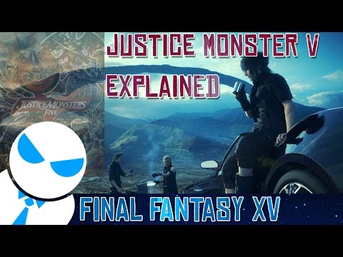 Final Fantasy XV - OP Accessories & Spells [Justice Monster V Explained]