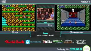Awesome Games Done Quick 2015 - Part 44 - Contra by DK28 and TheMexicanRunner