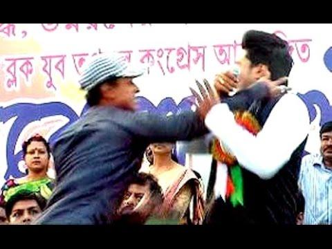 Trinamool MP Abhishek Banerjee slapped in public, TMC holds protest rally