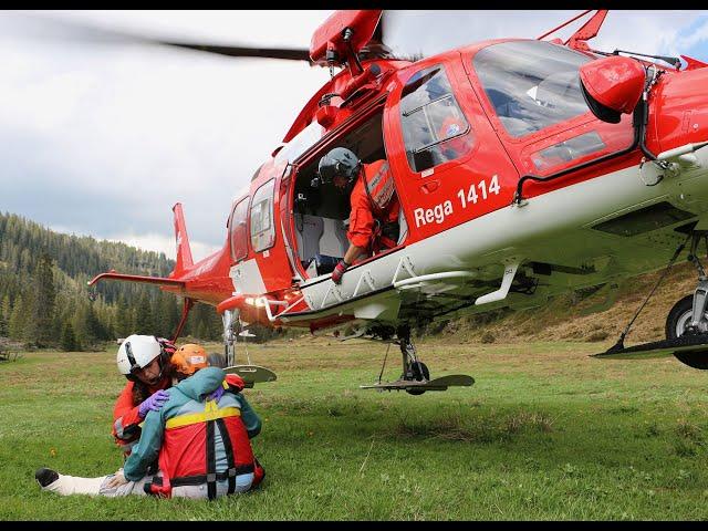 Rega 1414 – Les secours arrivent (3/5) - Alerte intoxication!