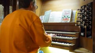 Nothing but the Blood of Jesus (Sankey hymn) - pipe organ, Holy Trinity Church, St Austell