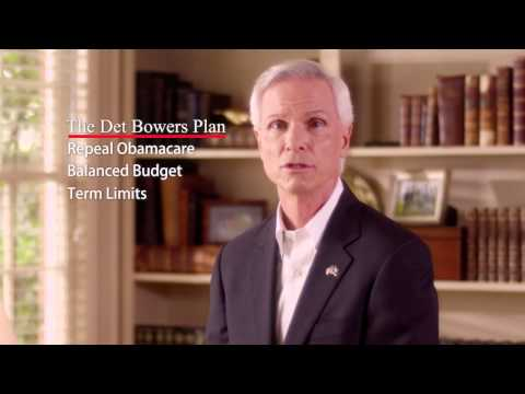 "Det Bowers for US Senate ""A Conservative Voice for South Carolina"""