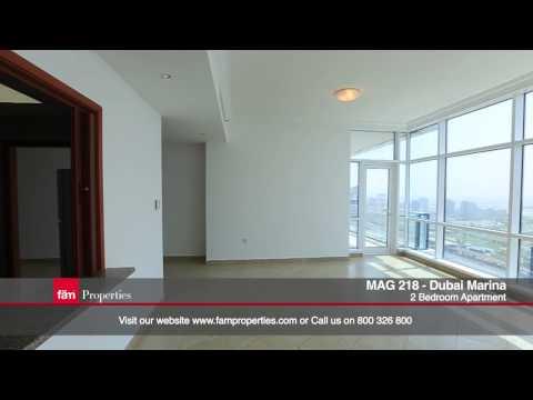 Dubai Marina -  Mag 218 Tower: Luxury 2 bedroom Apartment for Sale