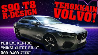 KOEAJOSSA - VOLVO S90 T8 R-DESIGN AWD TWIN ENGINE  -18 (4K)