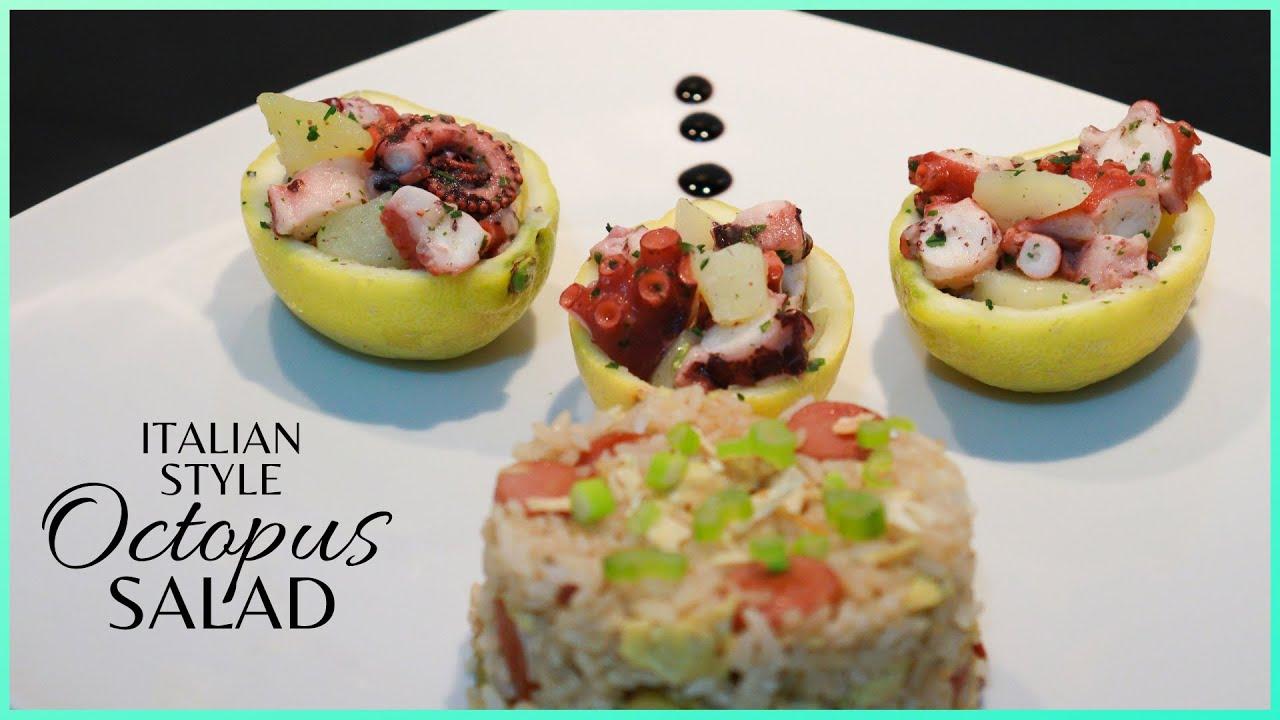ITALIAN OCTOPUS SALAD RECIPE | Octopus & Potato Salad | Insalata di Polpo con patate |Jennel Letizia