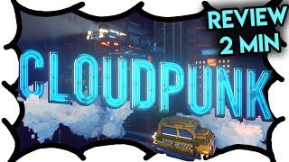 Cloudpunk (2 Min Review) | MrWoodenSheep (Video Game Video Review)