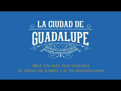 1864 Un país, dos visiones. El #GritoDeIndependencia de Juárez y el de Maximiliano.
