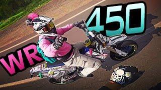 Chasing the pink Yamaha rider | CRAZY ITALY