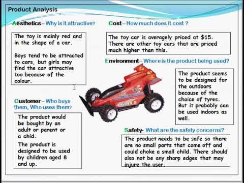 Product analysis