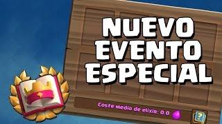 DESAFÍO CLASH ROYALE RETRO Nuevo evento especial | Sneak Peek | Clash Royale | Alvaro845 Vs WithZack