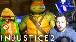 I CAN'T BELIEVE THE NINJA TURTLES ARE HERE - Injustice 2