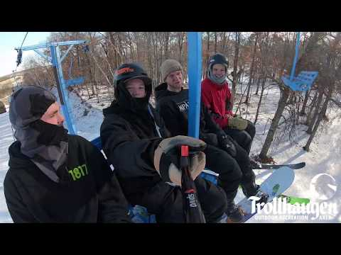 "Trollhaugen Snow Report 01/10/19 : 12-96"" Of Snow!"