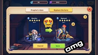 Idle Heroes▪hero replacement video/i got cool hero▪private server