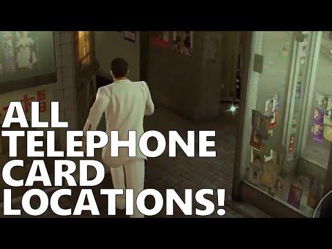 Yakuza 0 Postgame Part 121 - All Telephone Cards!