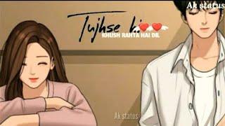 bheegi bheegi whatsapp status | yu bheegi bheegi si barsaat bhi hai whatsapp status |