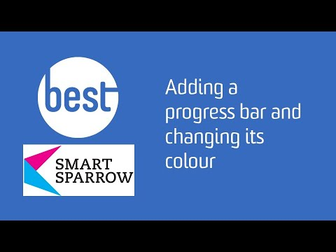 Adding a progress bar to your tutorial and changing the colour