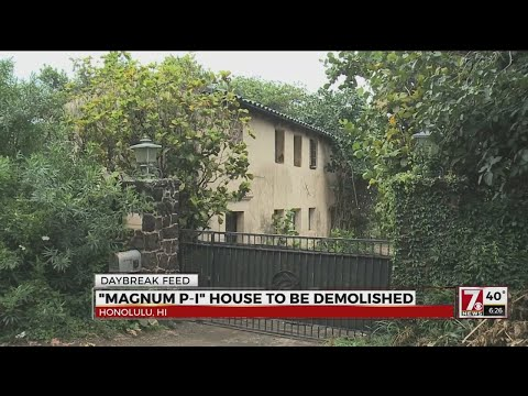 Magnum P.I. House to be demolished