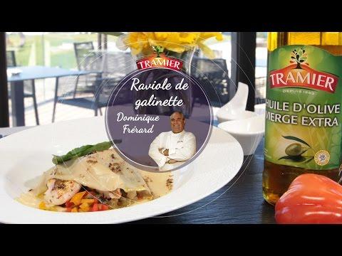 recette-chef-dominique-frérard---raviole-ouverte-de-galinette-et-ratatouille-confite