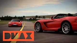 D MOTOR - Corvette Z06 vs. Dodge Viper SRT-10