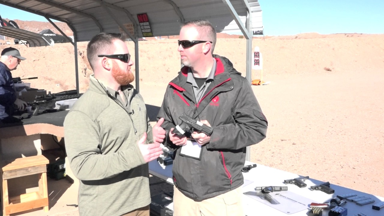 SHOT Show 2017: Ruger American Compact Pro  45 ACP Pistol