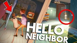 One of Bijuu Mike's most viewed videos: PROOF Hello Neighbor Is HAUNTED! & New Alpha 3 House | Hello Neighbor