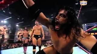 Repeat youtube video Seth Rollins vs Dean Ambrose vs Leakee
