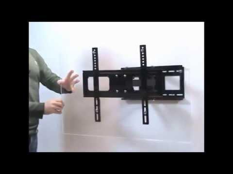 Крепление телевизора на стену: Как установит кронштейн для телевизора на стену.