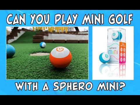 Can You Play Miniature Golf with a Sphero Mini?
