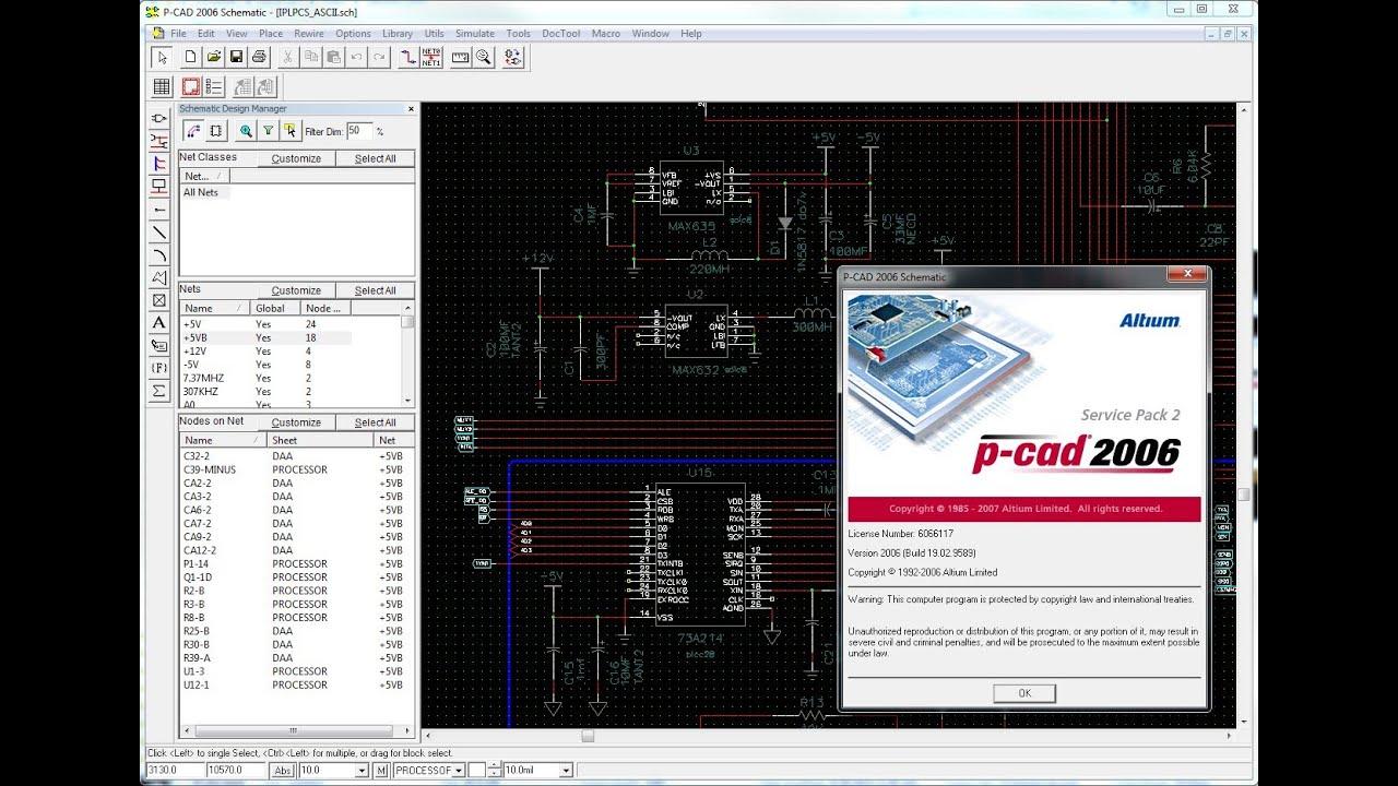 P-CAD Viewer (free) download Windows version