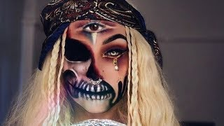 EASY HALLOWEEN MAKEUP TUTORIAL - DEMON #5