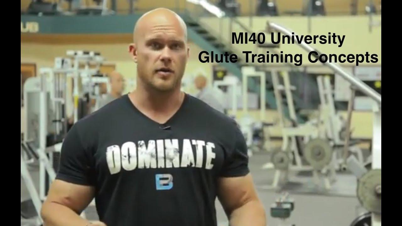 glute training concepts mi40 university ben pakulski youtube