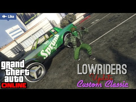 GTA V online | Lowriders Update Part 2 | 24's On My Low Low O_o | PS4 Livestream Broadcast