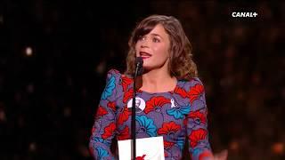 Blanche Gardin présente le prix du Meilleur Espoir Féminin - César 2018
