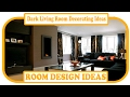 Dark Living Room Decorating Ideas - Gray Living Room Ideas | Grey Living Room Ideas Pictures