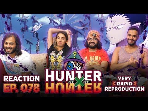 Hunter x Hunter - Episode 78 Very x Rapid x Reproduction - Reaction!