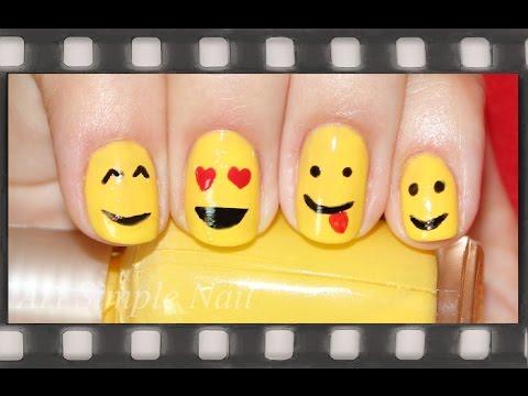 Смайлики - маникюр для коротких ногтей обычным лаком   Smiley Face Nail Artиз YouTube · Длительность: 1 мин50 с  · Просмотры: более 96000 · отправлено: 08.08.2014 · кем отправлено: Art Simple Nail