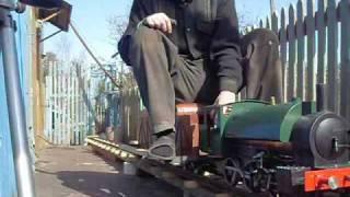 live steam locomotive. Действующая модель паровоза.