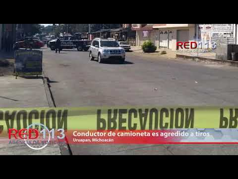 VIDEO Conductor de camioneta es agredido a tiros, muere en un hospital