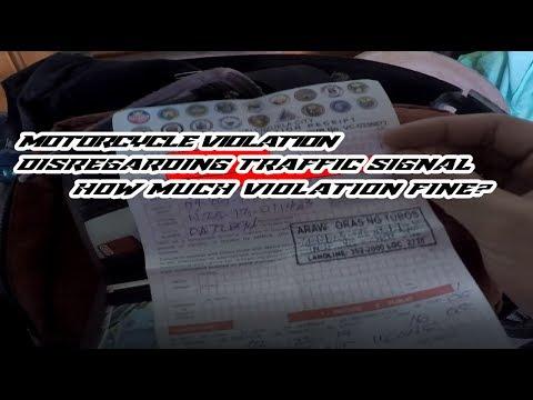 MotoVlog2: | Road Violation | Disregarding Traffic Signal | Violation Penalty