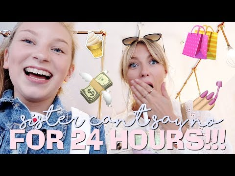 BIG SISTER CAN'T SAY NO FOR 24 HOURS! 😈😆 | Coco's World