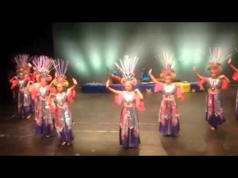 DANADYAKSA BUDYA INDONESIA IN CATALONIA DANCING COMPETITION SPAIN
