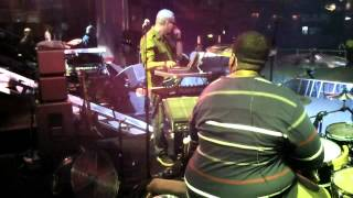 Aaron Spears - Caught Up 2012-  (London Show Soundcheck)