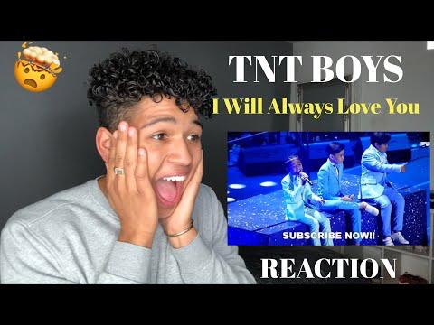 TNT Boys - I Will Always Love You TNT ALL-STAR SHOWDOWN    MY REACTION