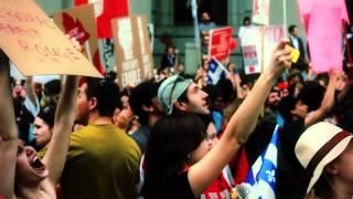 Printemps québécois - Discours pour l