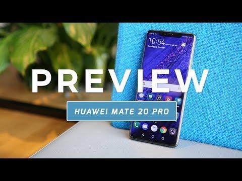 Huawei Mate 20 Pro preview (Dutch)
